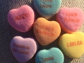 """Personalized """"sweets for the sweet"""" for LauraPalooza gift bags."""