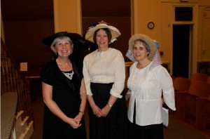 Nancy Beckman, Barb Beau, and Carolyn Hibbs