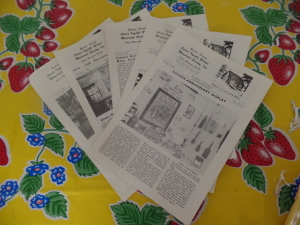 Newsletters from the Laura Ingalls Wilder Museum in Pepin WI, Probably sold in smaller lots